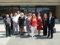 Dirigenti pred prijatím primátorom mesta Vranov