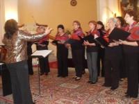 Prešovský ženský zbor nocturno na koncerte v Hanušovciach n.T.