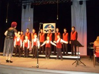 Chlapčenský zbor Ozvena na galakoncerte